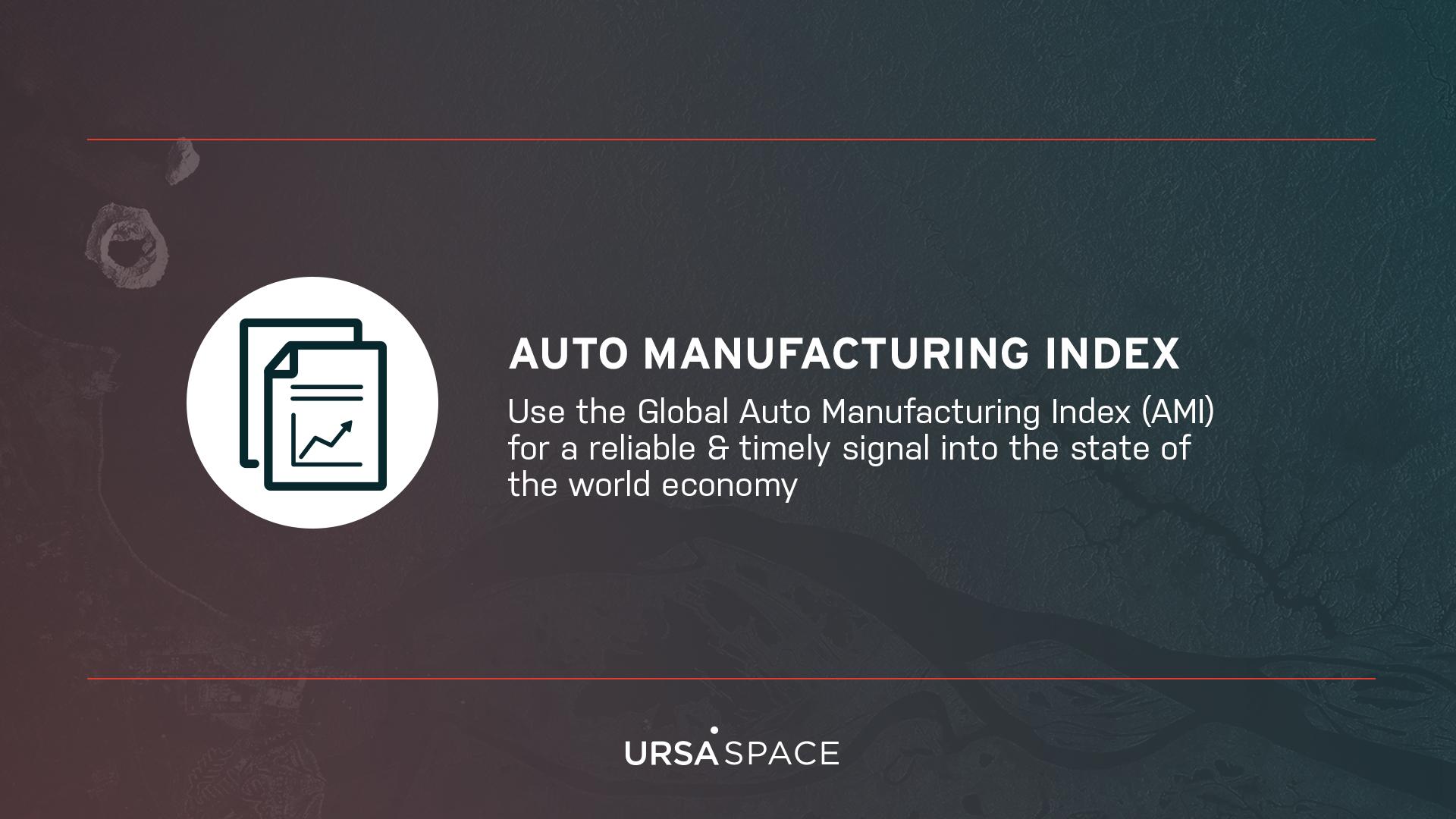 Auto Manufacturing Index