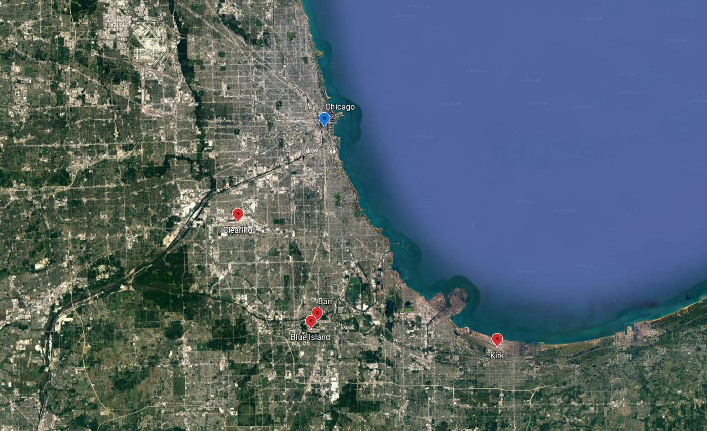 Chicago rail yards