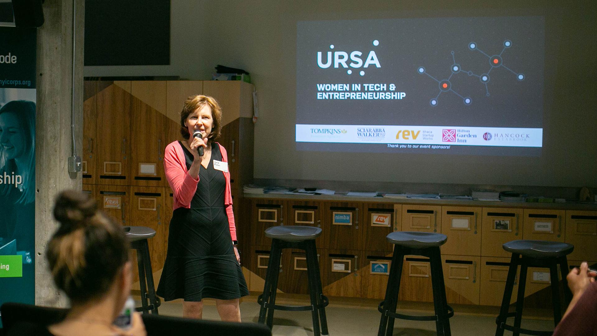 Julie Baker, Ursa Space, Rev Ithaca, Women in Tech and Entrepreneurship