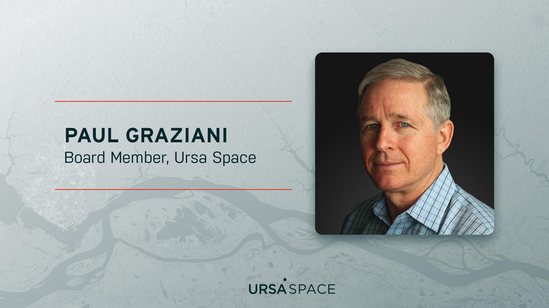 Paul Graziani new Board member