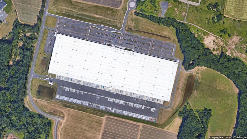 Amazon Fulfillment Center in Windsor, CT
